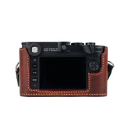 Arte di Mano Leica M10 Leather Half Case - Rear View
