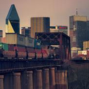 Union Pacific Bridge, Dallas Texas