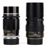 Canon vs Leica 135mm Weight Difference