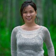 Christina at Thunderbird Falls Alaska