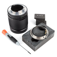 Leitax Contax RTS Lens Adapter Kit with Screws and Optional Screwdriver
